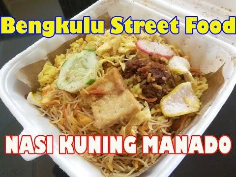 Bengkulu Street Food #7 Nasi Kuning Manado (Manado Yellow Rice)