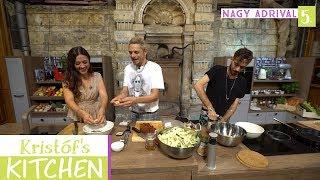 Gambar cover Kristóf's Kitchen in The Studios - vegán főzős talkshow - 5. rész - Nagy Adrival