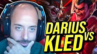 DUNKING ON KLED WITH AFTERSHOCK DARIUS! DARIUS VS KLED TOP! - Road To Challenger | League of Legends