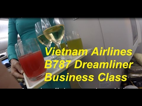 Vietnam Airlines Boeing 787 Dreamliner Ho Chi Minh to London Part 1 Boarding, Take Off, Supper