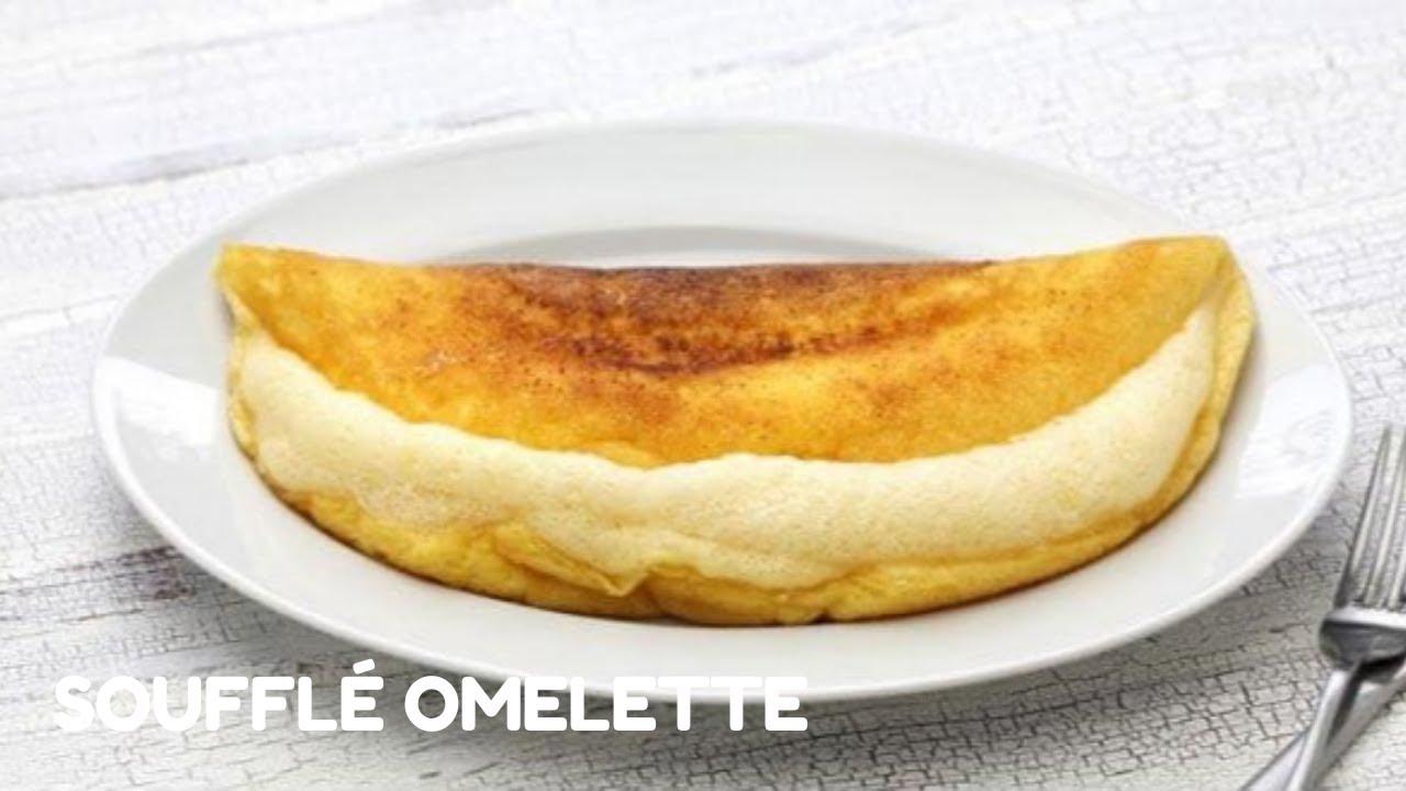 {{ Soufflé Omelette 蛋奶酥蛋卷 }} Super Fluffy Soufflé Omelette! Easy to make!