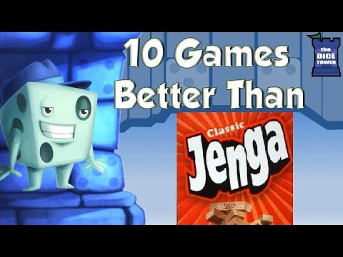 10 Games Better Than Jenga - with Tom Vasel