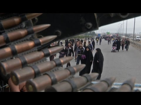 Iraqi Shiite Muslims' 50-Mile Pilgrimage To Karbala