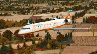 Flight Simulator X Deluxe Test CRJ 7