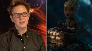 A Baby Groot Spin Off? James Gunn Talks Guardians Of The Galaxy Vol.2 Exclusive