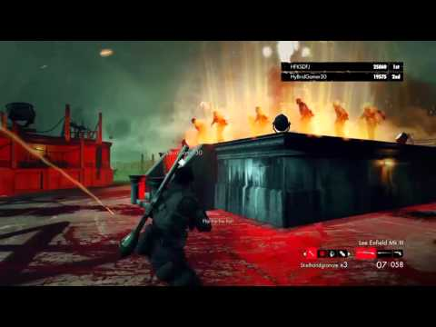 Awesome boss kill in Zombie Army Trilogy with Junie Casual Gaming |