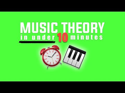 Music Theory in 10 Minutes