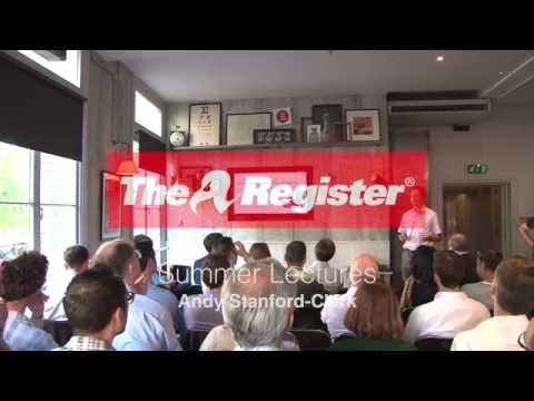Andy Stanford-Clark, The Internet of Things Starts at Home: The Register Sumer Lectures, 2016
