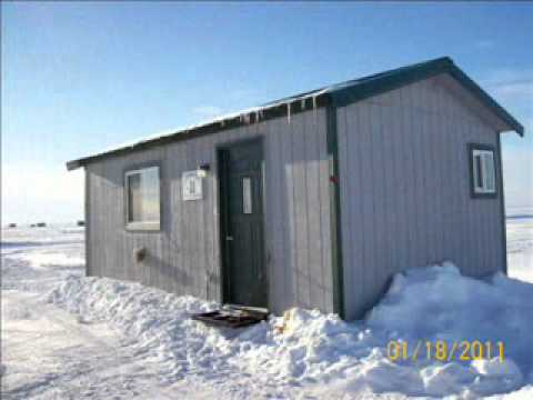 Fish House Rental On Mille Lacs Lake