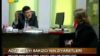 Sibel SAKIZCI STK Ziyaretleri - Kanal Urfa Haber