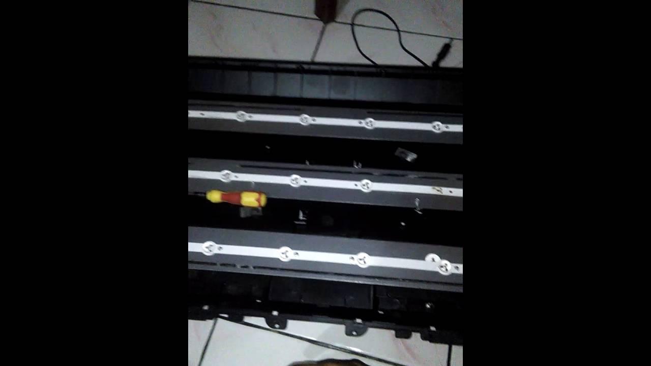 Cara Mengakali Lampu Led Backlight Yg Putus Pada Tv Changhong 1