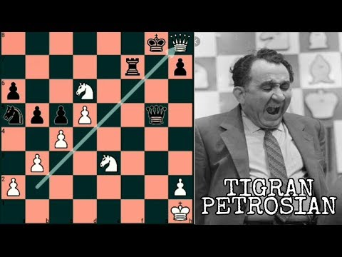 """First and Foremost a Stupendous Tactician."" - Tigran Petrosian"
