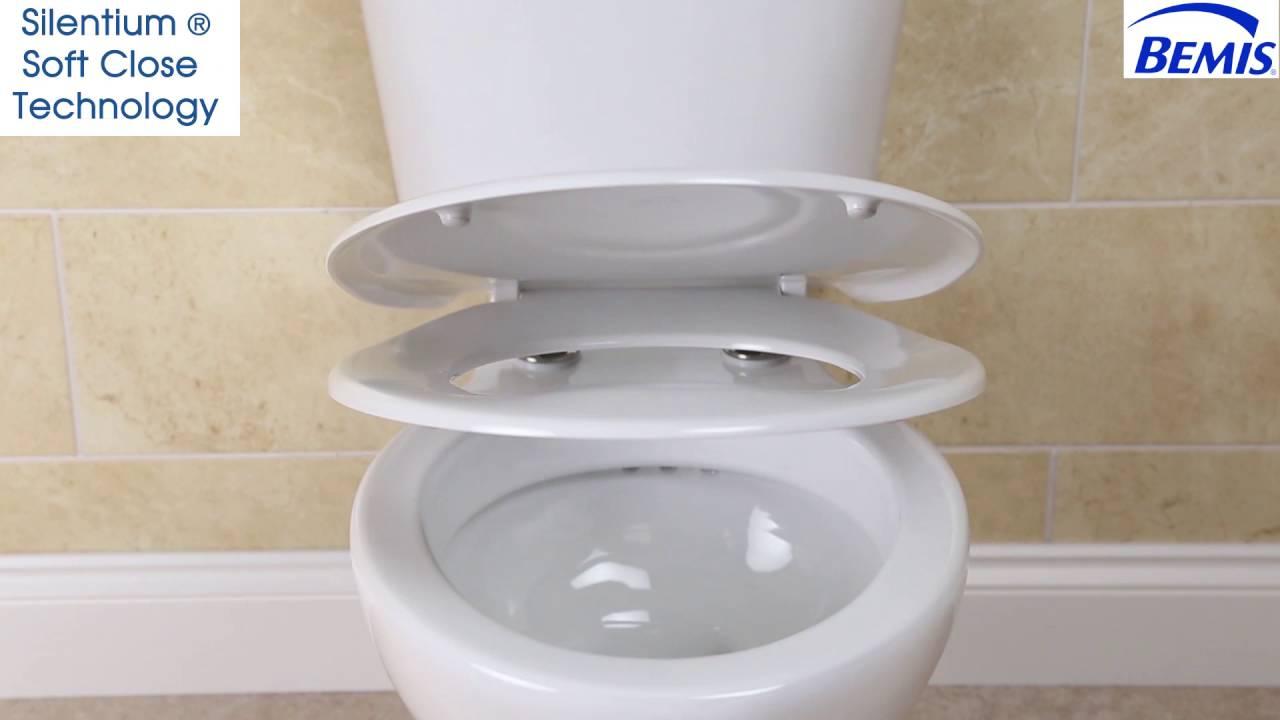 bemis white toilet seat. Bemis 2019 Silentium Soft Close White Toilet Seat  Plumbworld YouTube