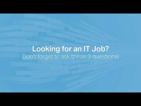 Looking for an IT Job in Chicago?