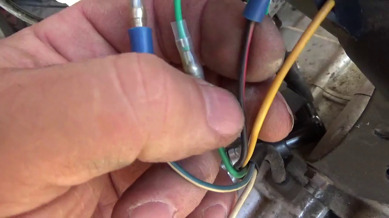 ssr 125cc pit bike 13 cdi coil wire harness gets the spark back  [ 1280 x 720 Pixel ]