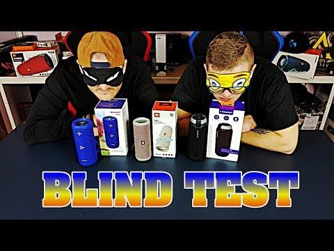 Blind Test & Porównanie | JBL FLIP 4, Sharp GX-BT280 i Tronsmart T6