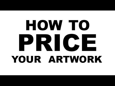How much should I charge For My Art? - Wrong Question.