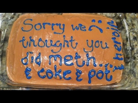 Mom Bakes Hilarious 'I Thought You Did Meth' Apology Cake For Daughter
