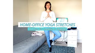 10 MINUTES HOME-OFFICE YOGA STRETCHES - mobility & balance