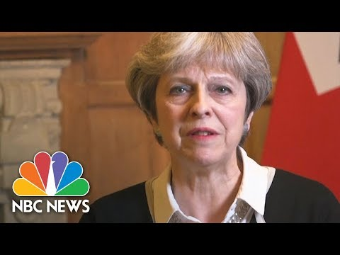 Watch Live: Theresa May speaks about strikes in Syria