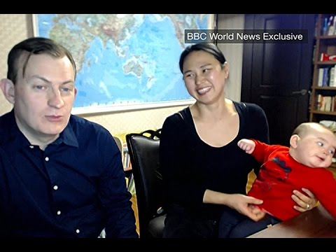 Thumbnail: Internet-famous family reacts to viral BBC interview