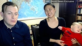Internet-famous family reacts to viral BBC interview