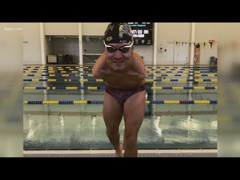 Download KGW News: Paralympic swimmer Abbas Karimi overcomes odds