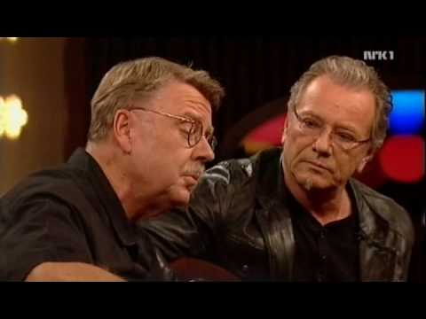 Mikael Wiehe & Åge Aleksandersen - Sång till friheten (live, NRK, 2008)