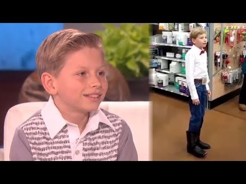 Yodel Boy Says He's Performed at Walmart 50,000 Times & Gets MAJOR Surprise On Ellen
