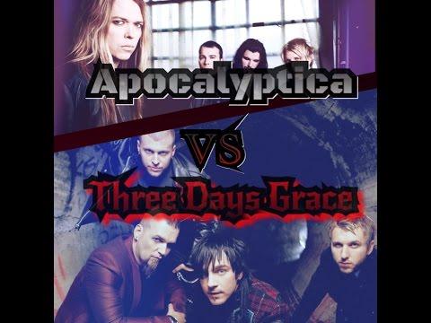 Apocalyptica VS Three Days Grace I Don't Care