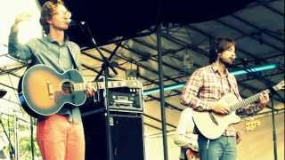 Kings Of Convenience: Boat Behind / Rule My World (Laneway Festival Singapore 2013)