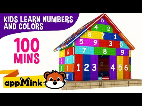 appMink Learn Numbers With Waffles & Monster trucks  Count 1 to 5  Children's Nursery Rhymes