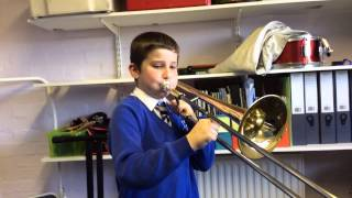 Blackadder Theme grade 2 Trombone