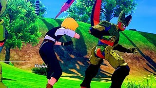 Cell Eats Android 18 Scene - Dragon Ball Z Kakarot