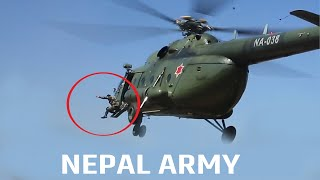 Nepal Army jumping without safety