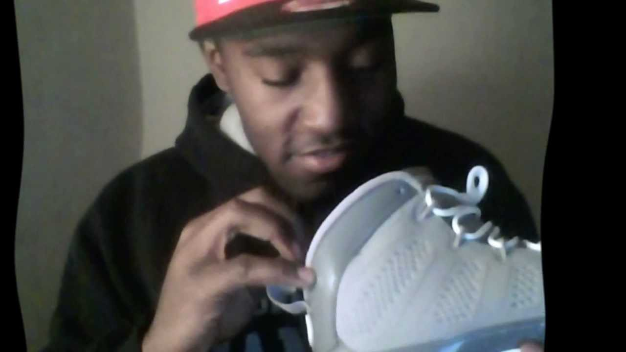 36f50881e179fb Air Jordan 9 Retro Cool Grey Review On Feet - YouTube