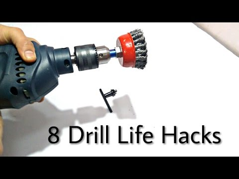 8 Drill Machine  Hacks..!