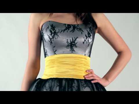 Коктейльное платье из кружева шантильи / Chantilly