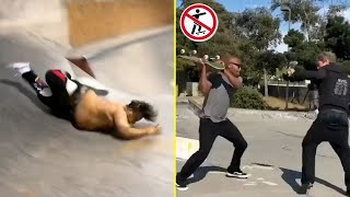 Funny Try Not To Laugh Watching Skateboarding vs People & Scooter Kids