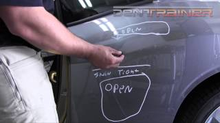 Dodge Challenger PDR Training(We hope you enjoy this preview where we give you a detailed look at the access on the 2012 Dodge Challenger quarter panel.View full video at ..., 2014-07-12T12:23:08.000Z)