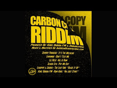 All Is Rum (Carbon Copy Riddim) - Lil Rick | (Official Audio) | King Bubba FM