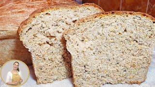 Домашний РЖАНОЙ ХЛЕБ, без яиц | Простой рецепт!