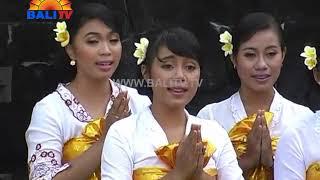 Purnama Ring Pura Pulaki STKIP AH Singaraja Folk Song Bali TV