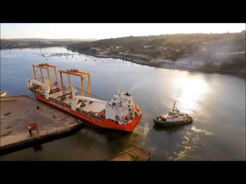 Liebherr - Assembly and shipping of fully erect ERTGs from Ireland
