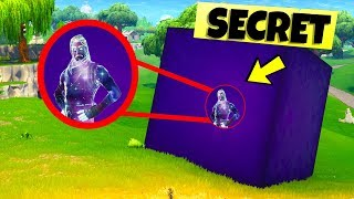 How To Live INSIDE the Fortnite SECRET CUBE...