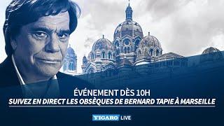 🔴Revivez les obsèques de Bernard Tapie à Marseille
