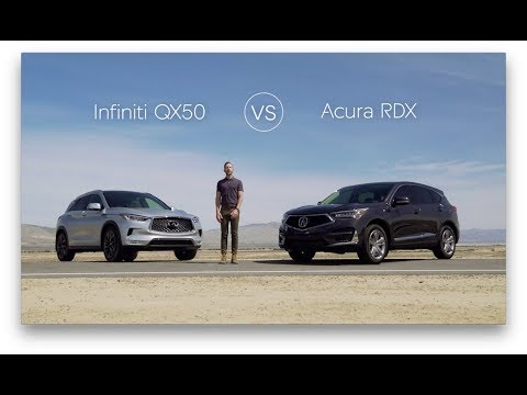 2019 Infiniti QX50 Review & Comparison vs. The 2019 Acura RDX