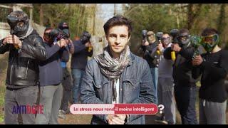 Le stress nous rend-il idiot ? Expérience d'Ulysse Thevenon sur Antidote (France 2)
