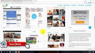 Como Descargar Una Plantilla Premium Graitis Para Blogger 2018