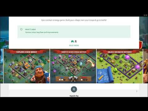 clash of clans new update 22 may 2017 released in playstore
